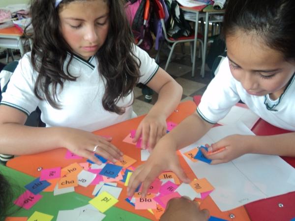 Pilotaje juego triquipalabras, Escuela Normal Superior