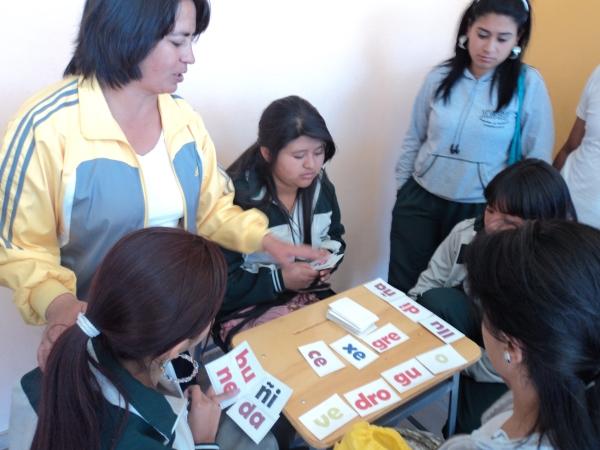 Pilotaje juego: Si la formo Docente Lucy Dalia Muñoz