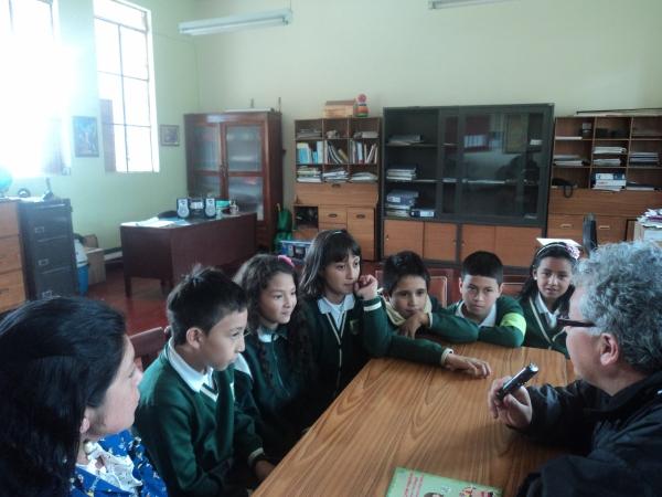 Entrevista a estudiantes de la Escuela Normal