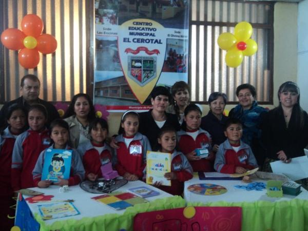 Docentes y estudiantes Centro Educativo El Cerotal