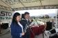 Docentes. Sandra Medina y Francisco Clavijo maestros de ceremonia Día de la Excelencia